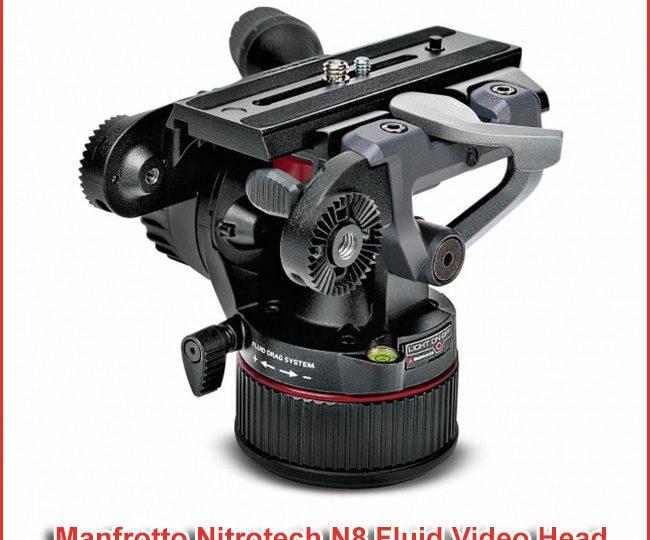 Manfrotto Nitrotech N8 Fluid Video Head
